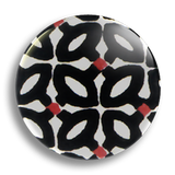 Black Tile 25mm Badge