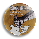 Communism! 25mm Badge