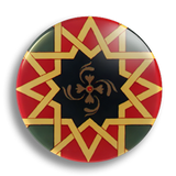 Moorish Tile 25mm Badge