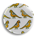 Birds Pattern 25mm Badge