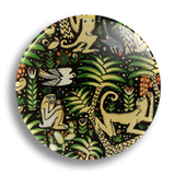 Monkey Fabric 25mm Badge
