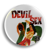 Devil Sex Vintage Pulp Fiction 25mm Badge