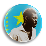 Lumumba 25mm Badge