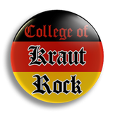 Krautrock College 25mm Badge