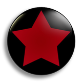 Red Star School Badge 25mm