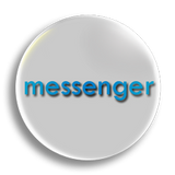 Messenger Badge 55mm
