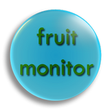 Fruit Monitor Badge 55mm