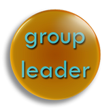 Group Leader School Badge 25mm