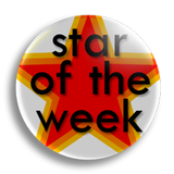 Star of the Week Badge 38mm