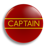 Captain School Badge 55mm
