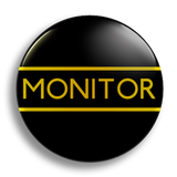 Monitor School Badge 38mm