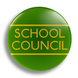 School Council Badge 38mm