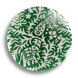 Indian Green Pattern 25mm Badge
