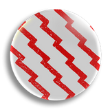 Indian Red Pattern 25mm Badge