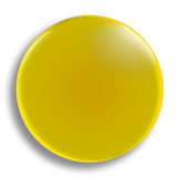 Yellow Badge 25mm