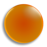 Orange Badge 25mm