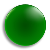Dark Green Badge 25mm