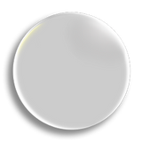 White Badge 25mm