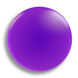 Purple Badge 25mm