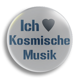 Ich Heart Kosmische Music, 25mm Badge