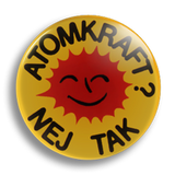 Atomkraft, Nej Tak 25mm Badge