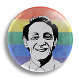 Harvey Milk 2, 25mm Badge