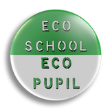 Eco Pupil School Badge 25mm