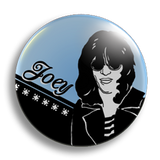 Joey Ramone 25mm badge