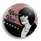 Dee Dee Ramone 25mm Badge