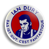 Ian Dury 25mm Badge