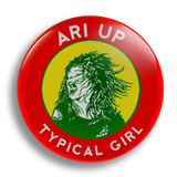 Ari Up Slits 25mm Badge