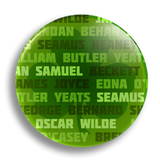 Literary Ireland 25mm Badge