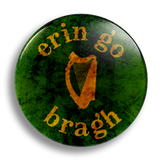 Erin Go Bragh 25mm Badge