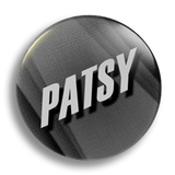 Patsy 25mm Badge