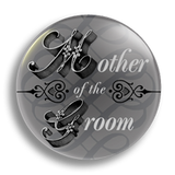 Mother of the Groom Wedding Badge 25mm