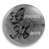 Groomsman Wedding Badge 38mm