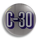 C30, 25mm Badge