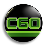 C60 25mm Badge