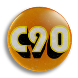 C90 25mm Badge
