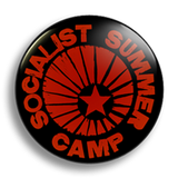 Socialist Summer Camp, 25mm Badge
