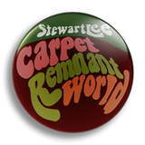 Stewart Lee - Carpet Remnant World, 25mm Badge
