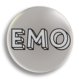 Emo, 25mm Badge