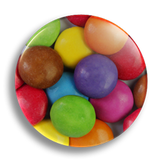 Smarties, 25mm Badge