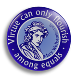 Mary Wollstonecraft, 25mm Badge