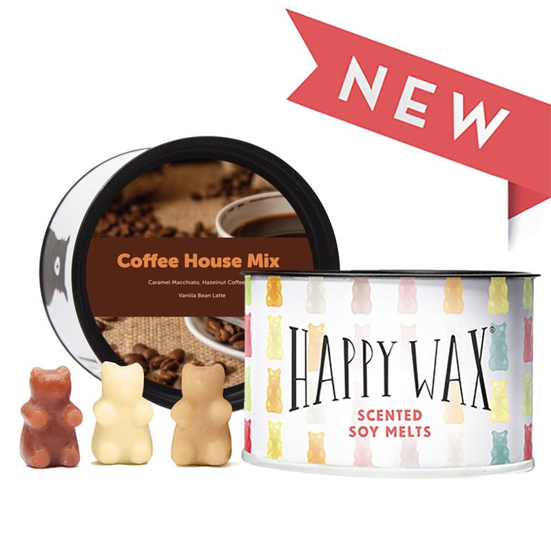 Happy Wax Tin Melts Coffee House