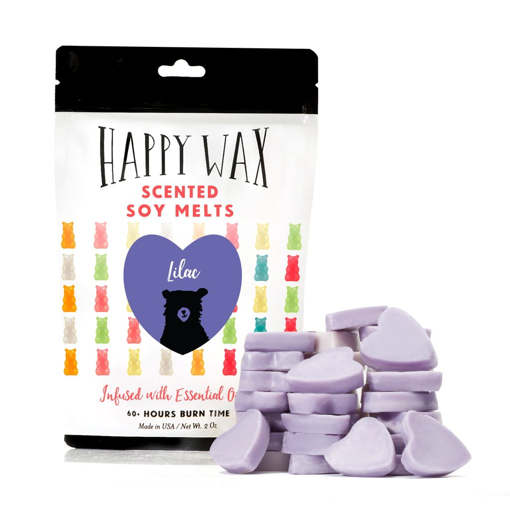 Happy Wax Melts Lilac
