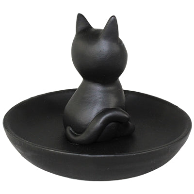 Black Cat Trinket Tray