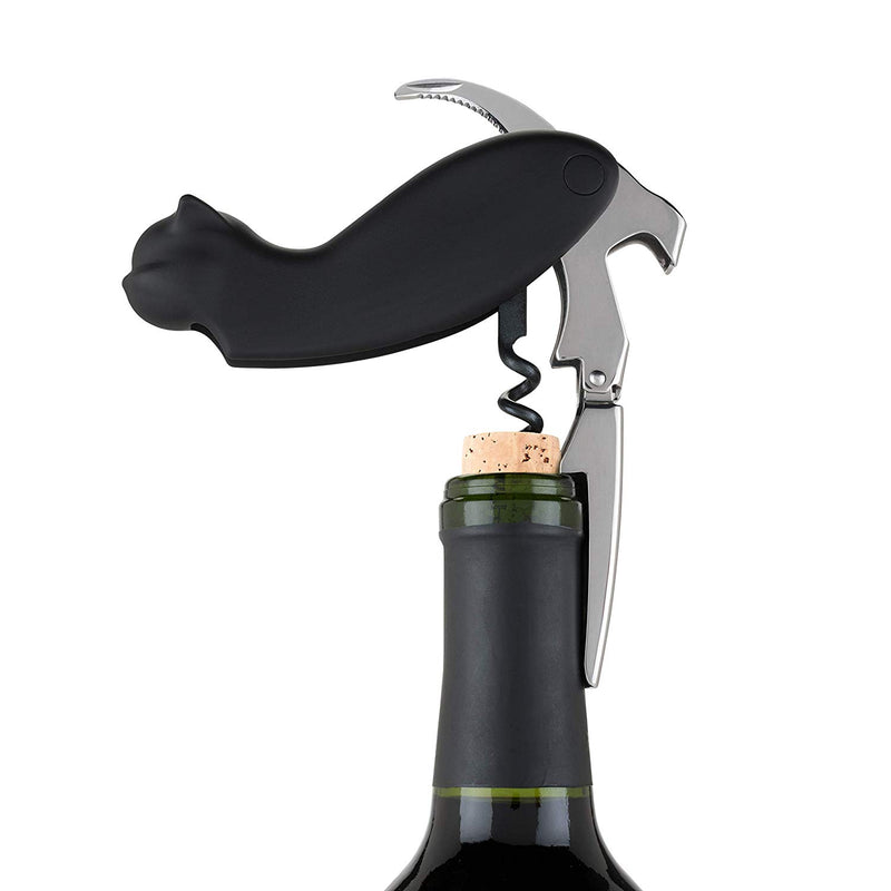 Black Cat Wine Bottle Opener