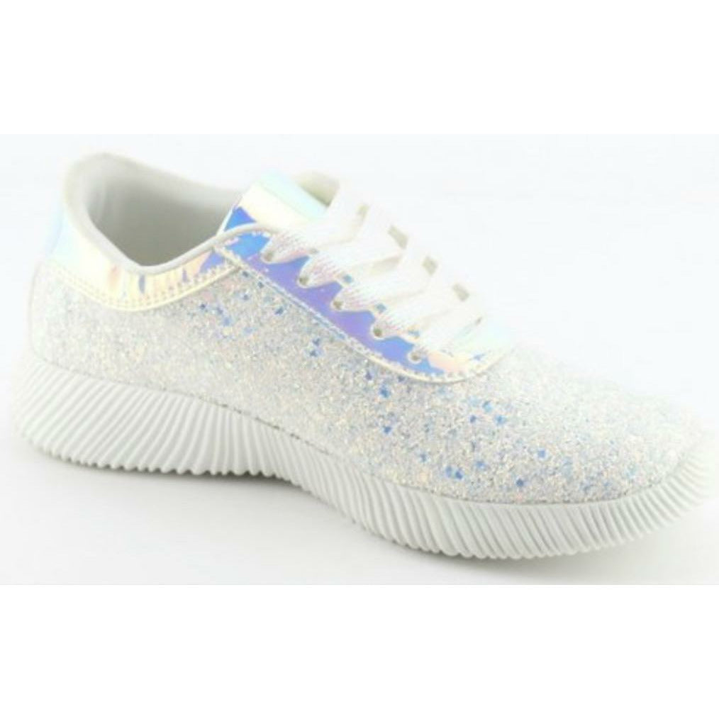 Glitter shoes sneakers