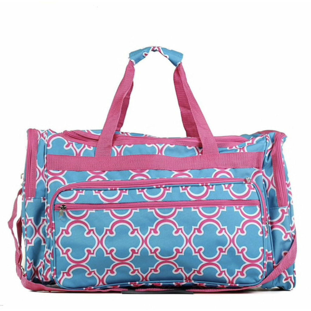 Vacation or Bust Large Duffle Bag